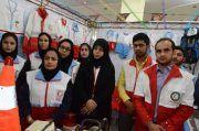 برگزاری مانور اضطراری با حضور ۱۴۰ نیروی پزشکی کشور در جم
