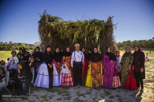 بازسازی عروسی سنتی در شهرستان جم/تصاویر