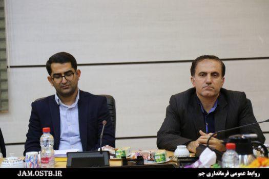 معارفه سرپرست بنیاد شهید شهرستان جم برگزار شد+تصاویر