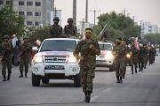 رژه  نیروهای مسلح در شهرستان جم برگزار شد+تصاویر