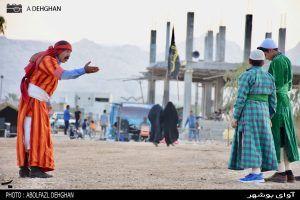 گزارش تصویری از تعزیه خوانی دهه محرم در روستای صیدی جم