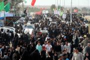 اجتماع ۱۰۰ هزار نفری عزاداران امام رضا(ع)/ بزرگترین پیاده روی جنوب کشور در دشتستان+تصاویر